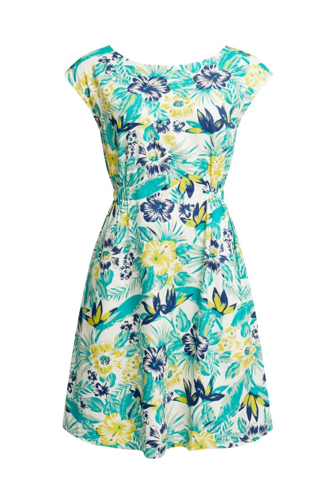 Helene Tropical Dress